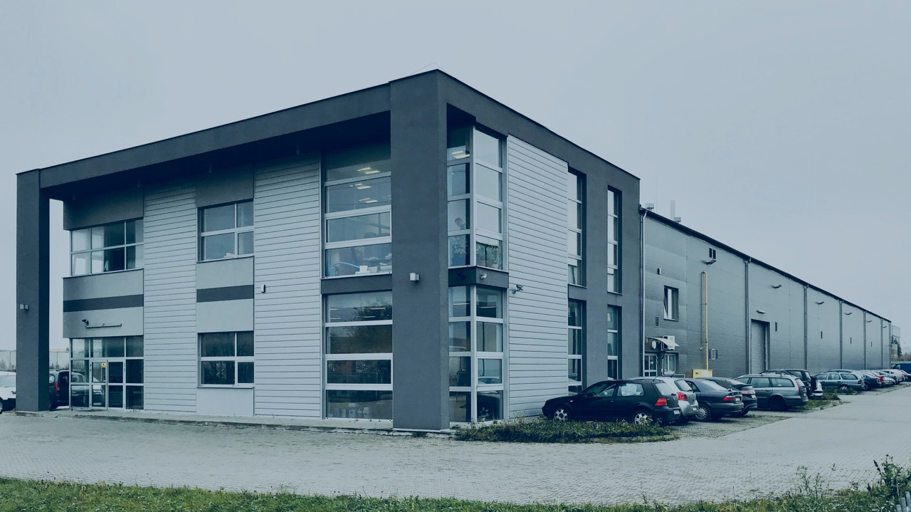 Our second production site in Poland; This time located in Lublin